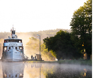 Join us for a canal cruise through Sweden, as we recreate Augusta Söderholm's voyage in 1850.