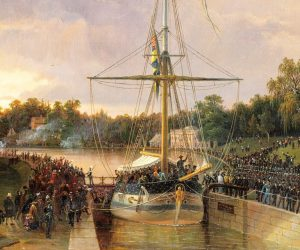 "Augusta's voyage on the Göta Canal – ""one of the most beautiful and pleasant trips one can make"""