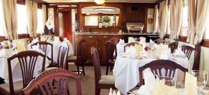 M/S Juno dining room