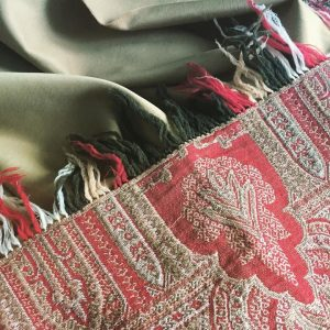Our mid-1800s Paisley Sha