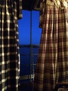 Our dresses hanging to dry