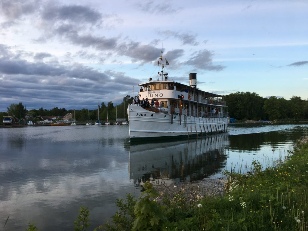Juno heading for Sjötorp