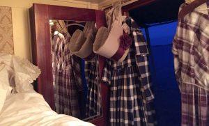 Dresses drying