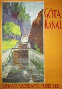 Göta Canal Poster