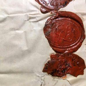 Gustaf Leidenfrost's seal