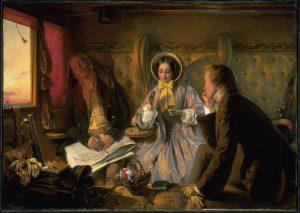 Abraham Soloman. First Class - The Meeting (original version) 1854