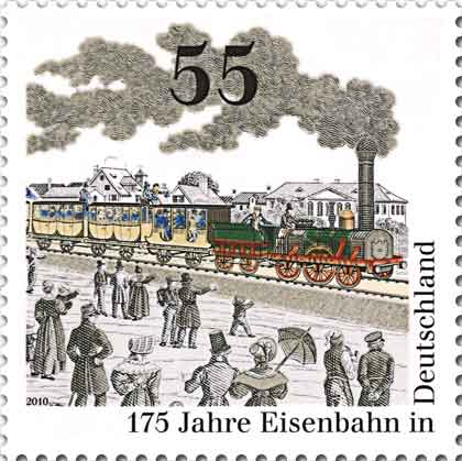 The first German railroad