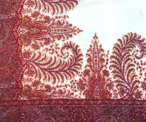 French Kashmir shawl from the 1830s