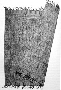 Reversible square shawl, European, c.1860 (The Kashmir Shawl by