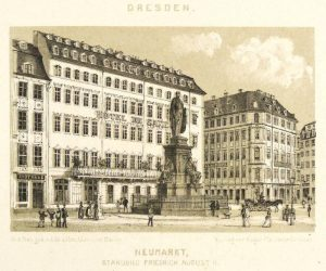 The famous Hotel de Saxe in Dresden, Germany
