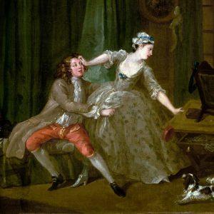 Before. William Hogarth (1697 - 1764)
