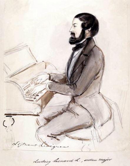 Ludvig Löwegren by Fritz von Dardel