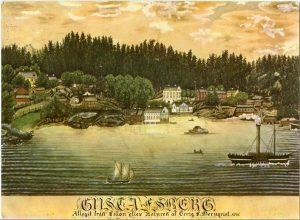 Gustafsberg in 1841