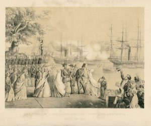 Princess Lovisa arrives in Stockholm 15 June 1850