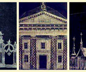The Illumination of Stockholm 9 February 1853