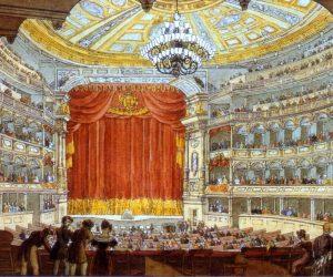 Augusta's Visit to the Semperoper in Dresden