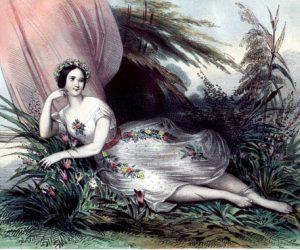 Marie Taglioni, the Swedish ballerina