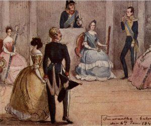 Fritz von Dardel paints Augusta's lieutenants – and tags them