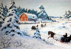 Dashing through the snow…